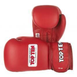 Boxerské rukavice Top Ten AIBA 2014 - červená červená 10