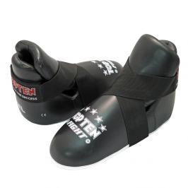Chrániče nohou TOP TEN Fight - černá černá M/L