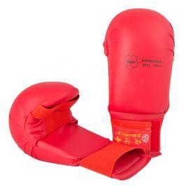 Hayashi karate chrániče WKF - Tsuki - červená červená L