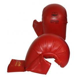 Hayashi karate chrániče WKF - Tsuki - červená červená XL
