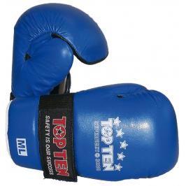 Otevřené rukavice Top Ten Superfight 3000 - modrá modrá S/M