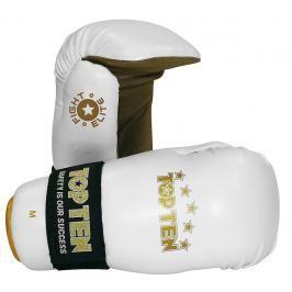 Otevřené rukavige Top Ten Fight Elite - bílá bílá S