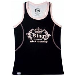 Dámský top King - černá černá M