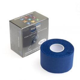 Neelastická tejpovací páska Kine-MAX Team Tape - modrá modrá 3,8cm x 10m