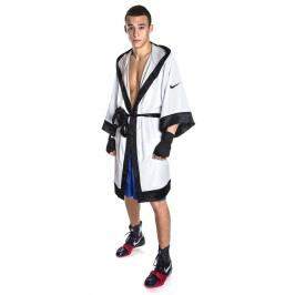 Nike boxerský plášť - župan bílá M