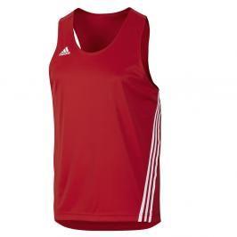 Boxerské tílko adidas - červená červená S