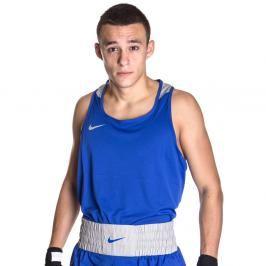 Nike boxerské tílko - modrá modrá L