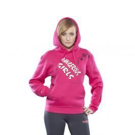 Mikina TOP TEN - Dangerous Girls růžová XS