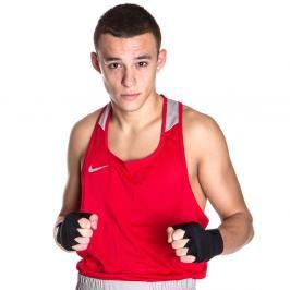 Nike boxerské tílko - červená červená XL