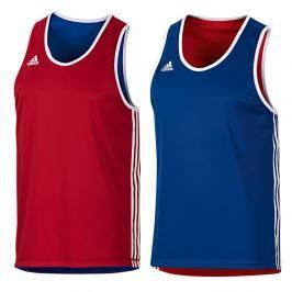 Oboustranné boxerské tílko adidas Punch Top červená XL