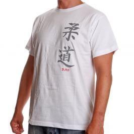 Triko Satori kaligrafie - JUDO - bílá bílá S