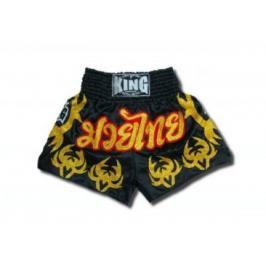 Thai trenky King - černá černá XXL