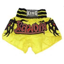 Thai trenky King - žlutá žlutá XXL