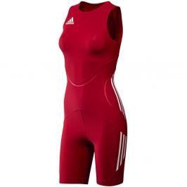 adidas dres dámský WR Suit Classic - červená červená 42