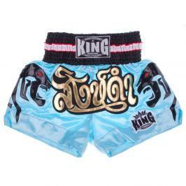 Thai trenky King - modrá modrá XL