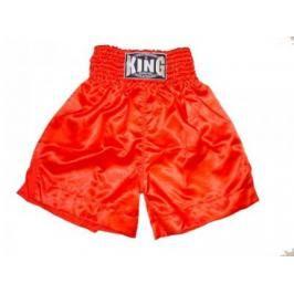 K-1 - trenky King plain červená XL