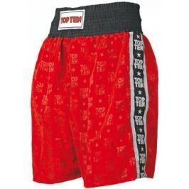 Boxerské trenky Top Ten - červená červená S
