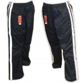 Bavlněné kalhoty Hayashi - černá černá 160