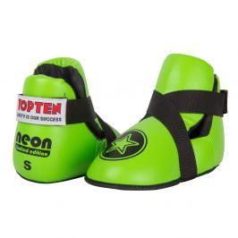 Chrániče nohou Top Ten Fight - neon. zelená neon. zelená M