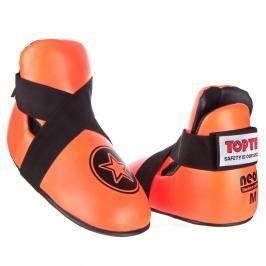 Chrániče nohou Top Ten STAR - neon. oranžová neon. oranžová M/L
