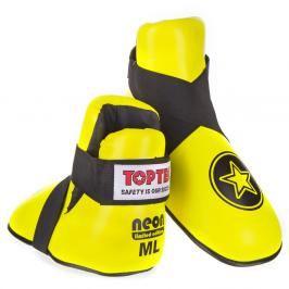 Chrániče nohou Top Ten STAR - neon. žlutá neon. žlutá M/L