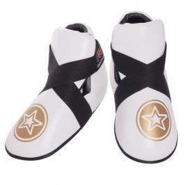 Chrániče nohou Top Ten Fight - bílá bílá M