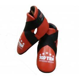 Chránič nohou TOP TEN Superfight 3000 - červená červená L