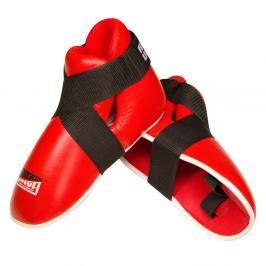 chr. nohou FIGHTER FULL - červená červená XL