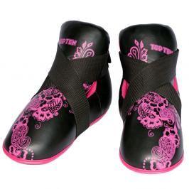 Chrániče nohou Top Ten Individuals - černá/růžová černá M/L