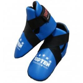 Chránič nohou TOP TEN Superfight 3000 - modrá modrá L