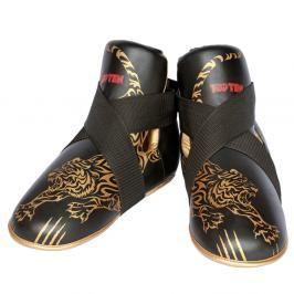 Chrániče nohou Top Ten Individuals - černá/zlatá černá M/L