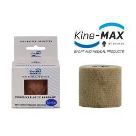 Kine-MAX Samofixační elastické obinadlo-5cm,7,5cm,10cm - béžová béžová 10cm