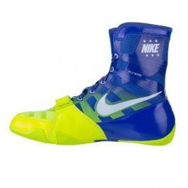 Box boty Nike HyperKO - modrá/neon. zelená modrá 6