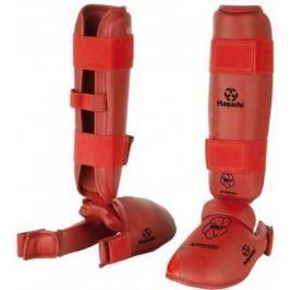 Chrániče holení a nártů Hayashi WKF - červená červená XXL