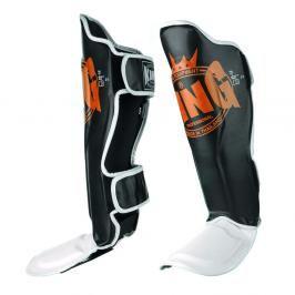 Chrániče holení King Color Series - černá/oranžová/bílá černá S