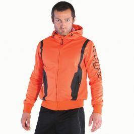 Grips Fleece mikina s kapucí - oranžová oranžová M