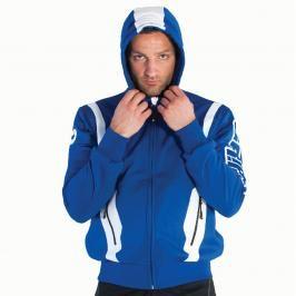 Grips Fleece mikina s kapucí - modrá modrá L