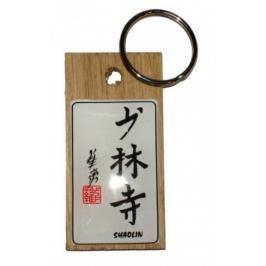 Přívěsek kaligrafie Shaolin přírodní
