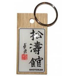 Přívěsek kaligrafie Shotokan přírodní