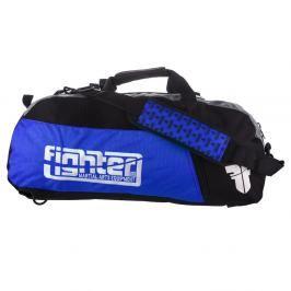 Sportovní taška Fighter - modrá modrá M