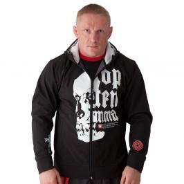 Mikina Top Ten MMA softshell - černá černá S