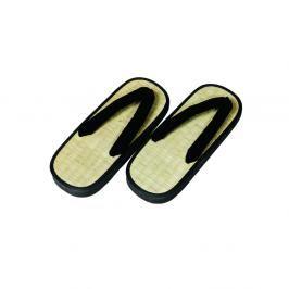 Zori Y - rákos - béžová/černá béžová 40