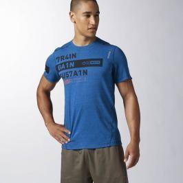 Reebok triko Triblend modrá XL