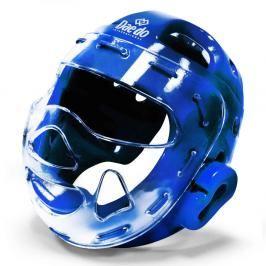Daedo přilba WTF s maskou - modrá modrá M