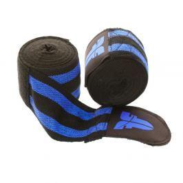 Bandáže Fighter - černá/modrá černá 2,5