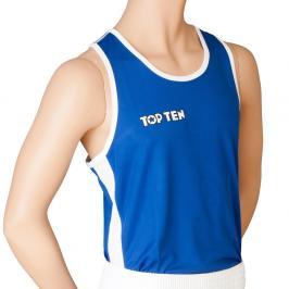 Top Ten boxerské tílko - modrá modrá L