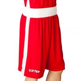 Top Ten boxerské trenky - červená červená L