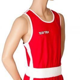 Top Ten boxerské tílko - červená červená XXL