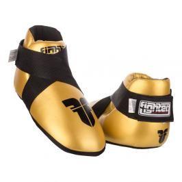 Chrániče nohou Fighter - zlatá zlatá XS