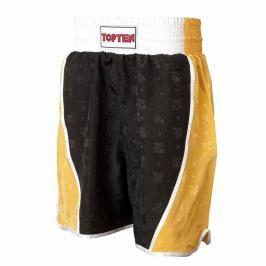 Boxerské trenky TOP TEN - černá/zlatá černá L